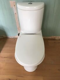 Toilet pan with integrated cistern for sale