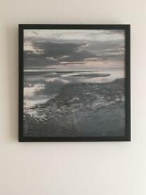 Sea scape framed picture