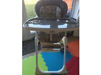 Jole high Chair - Near New 2 Months Old