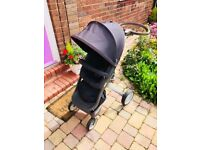 Stokke Xplory V4 Stroller in Blue - Used but in good condition