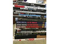 DC Batman Comics & Grophic Novels Joblot
