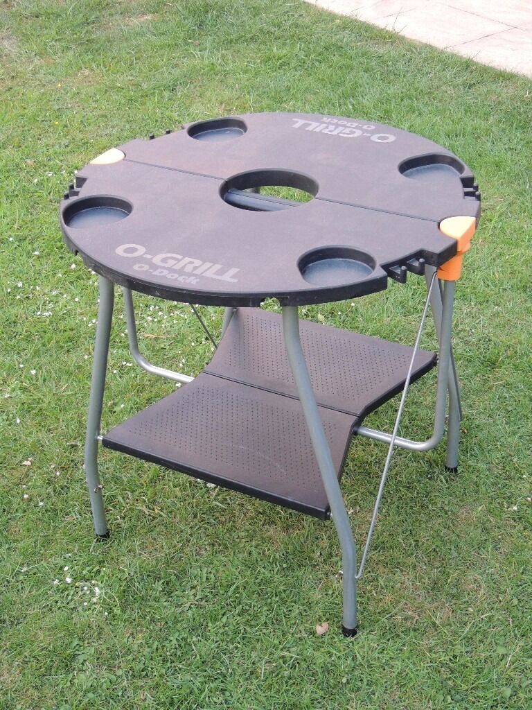 O-GRILL (Iroda) Barbecue BBQ STAND / TABLE Very good condition ...