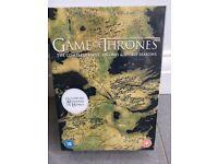 Game of Thrones Seasons 1-3 DVD, brand new