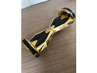 """Bluefin 8"""" Drifter Hoverboard Swegway - GOLD with bluetooth speakers"""