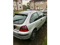 Rover 25 Silver for Spares plus new tyres