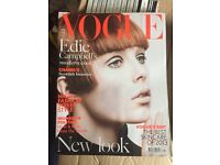 VOGUE Magazines - April 2013 to March 2014