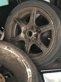"""Set of alloy wheels 15"""""""