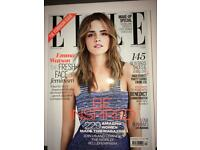 28 Elle fashion magazines 2005 - 2015
