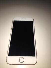 Rose gold iPhone 6S 16GB