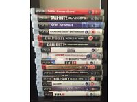 PS3 - 2x controllers and 15 games