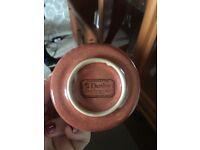 Denby (Fine Stoneware) Brown/Orange Tea Set - Excellent Condition