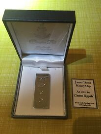 James bond money clip as featured in Casino Royale