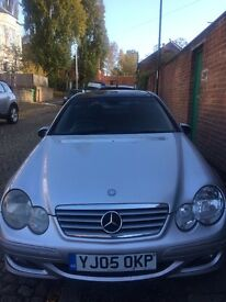 CHEAP MERCEDES-BENZ C-CLASS 1.8 C180 KOMPRESSOR SPORT ED 2-DOOR COUPE AUTO 2005