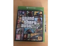 Gta5 (grand theft auto 5) , Xbox one , as new ! Price stands , no offers !