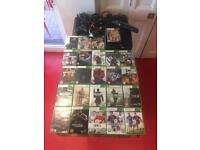 Xbox 360 bundle with Kinect plus 24 games and three controllers