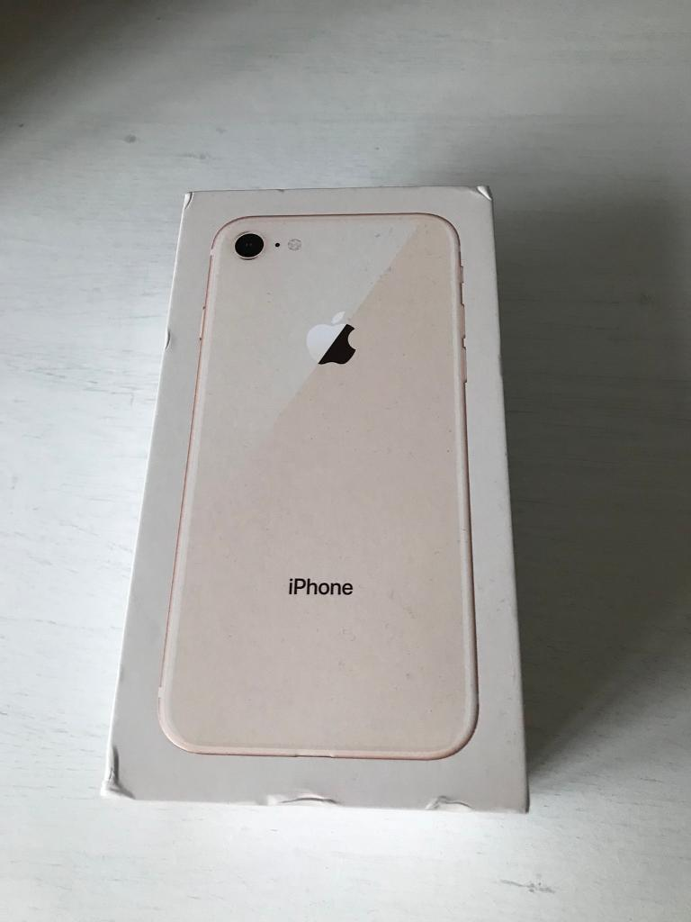 iPhone 8 Gold 64gb EE
