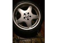 Mercedes AMG Wheels & Tyres x 4