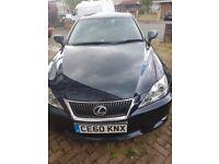 LEXUS IS250 £6800.. beatiful car...lady owner