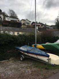 Parker 404 two man sailing dinghy boat