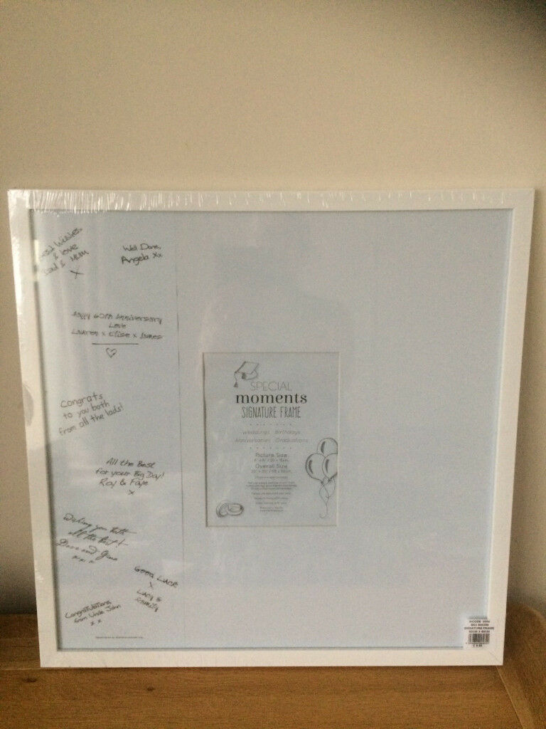 Special Moment Signiture Frame