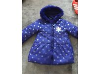 Frozen coat size 4-5 years old, great condition