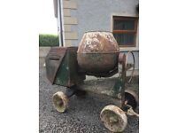 Diesel lister Cement Mixer (NOT tractor digger trailer quad)
