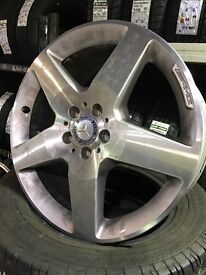 "Mercedes 19"" alloy wheels"