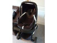 icandy peach 3 azure travel system and extras- collection loughborough