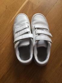 White boys sports shoes