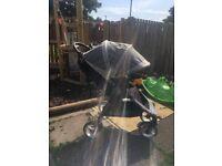 Great condition Baby Jogger city mini 4 wheel. Perfect holiday pram easy fold also has a UV hood