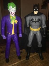 Batman & Joker 20 inches tall