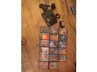 Sega mega Drive + 17 titles