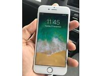 IPhone 6S 128GB -Unlocked - Silver ( Excellent Condition)