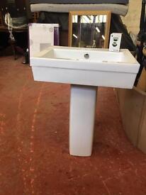 New Sink (Basin & Pedestal in box)