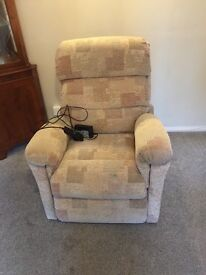 Eden Rise and Recliner Chair. Good working condition, Clean