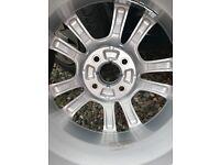 Alloy wheels Vauxhall corsa sxi x2 alloys