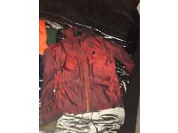 Jacket pretty green size large and xl