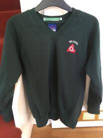 Wildern School Uniform jumper & tie (year 7)