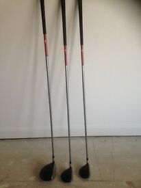 Taylor Made 540 Dx driver 3 & 5 wood