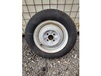 Caravan spare wheel 155/80 R13