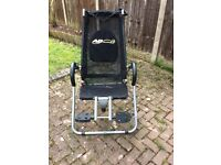 Black AB lounge XL fitness chair