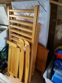Mamas and papas cot bed with understorage draw