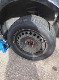 Ford Steel wheels & tyres