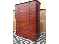 Collectors cabinet / plan chest / haberdashery cabinets