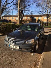 Mercedes Benz Sport Clc 220 diesel. MOT until feb 2018, full service history, 3 door, automatic, 08.