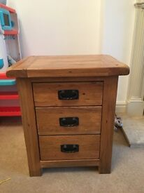 Pair of bedside units.