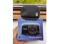 As new Canon PowerShot SX210 IS 14.1MP Digital Camera - Black