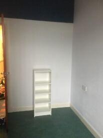 White Open Shelf Unit