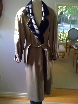 Vintage Gianfranco Ferre camel trench coat