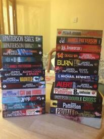 24 James Patterson Books